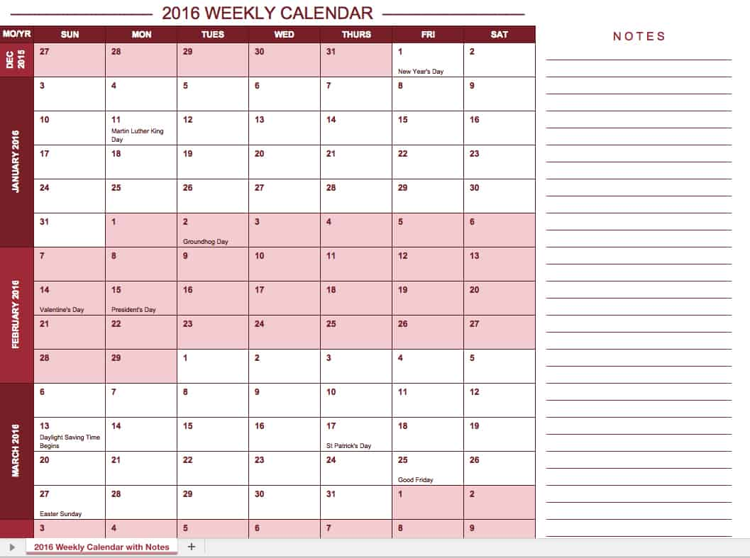 Doc792612 Weekly Sign in Sheet Template HiMama Daycare Sign – Sign Up Calendar Template