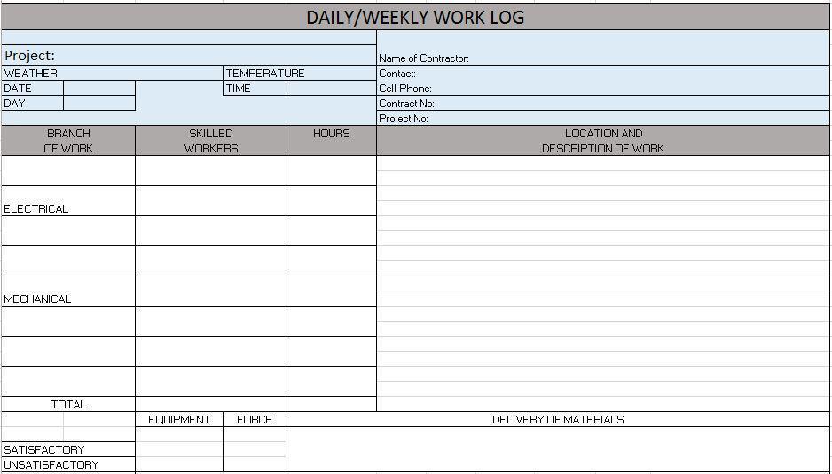 Estimate Sheet Templates free construction project management – Job Estimate Sheet