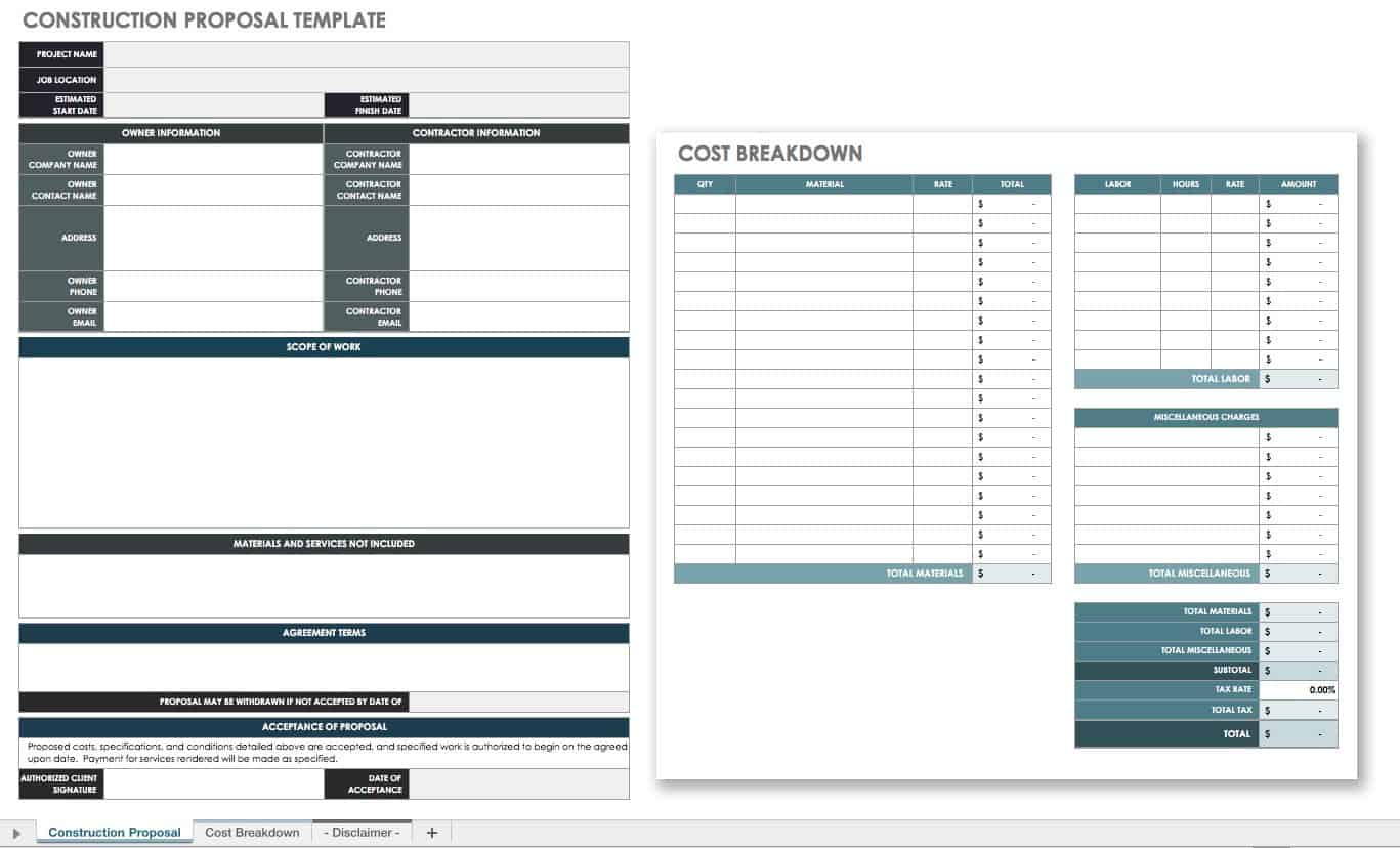 17 Free Project Proposal Templates Tips