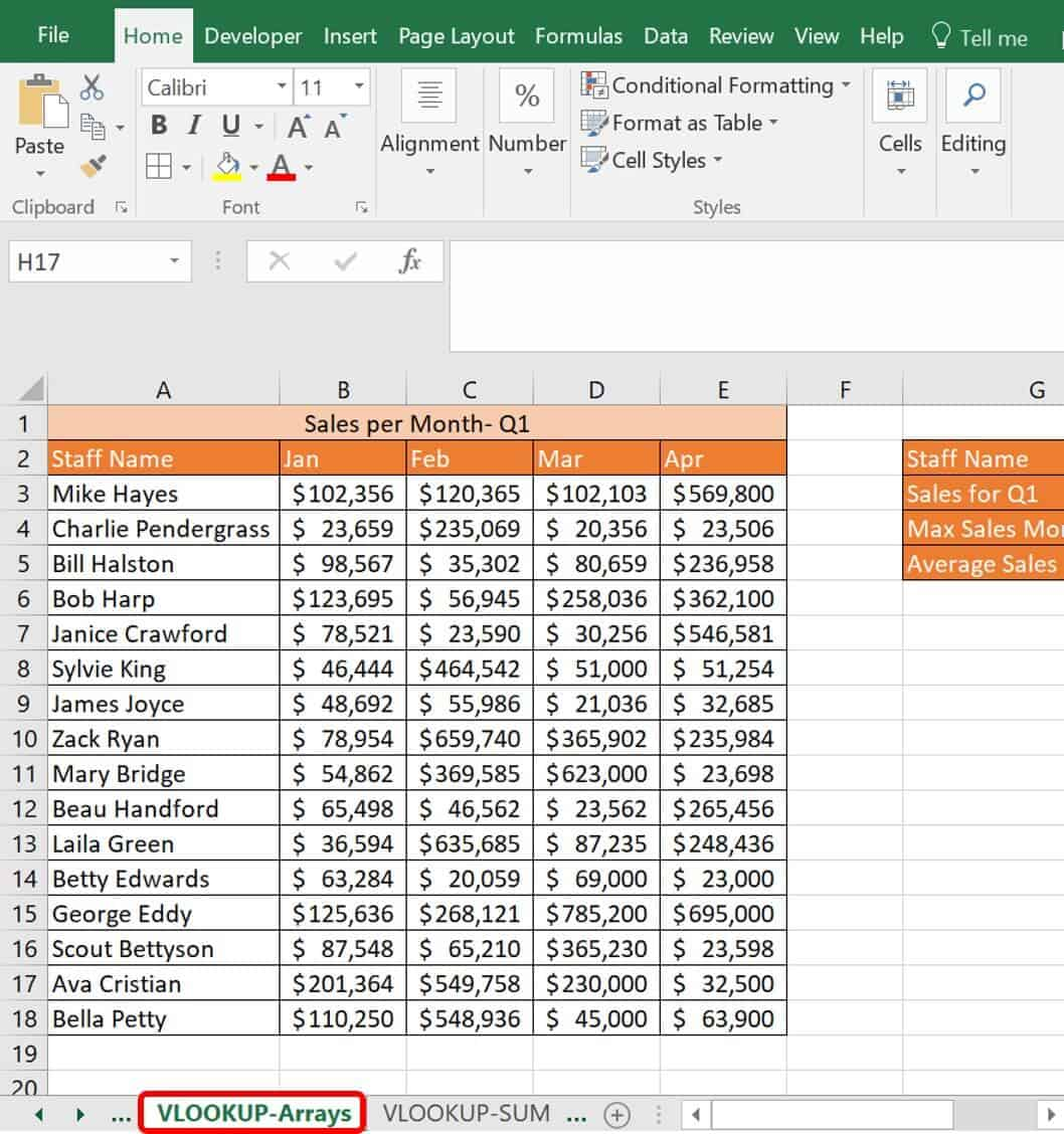 Master Vlookup Multiple Criteria And Advanced Formulas