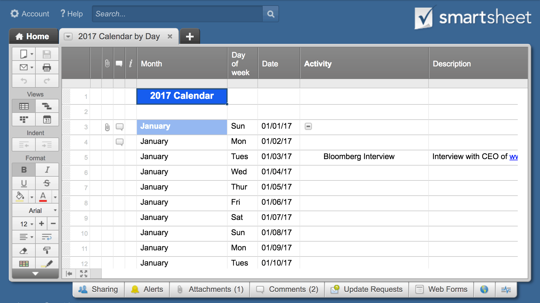 Make A Calendar In Excel Includes Free Template