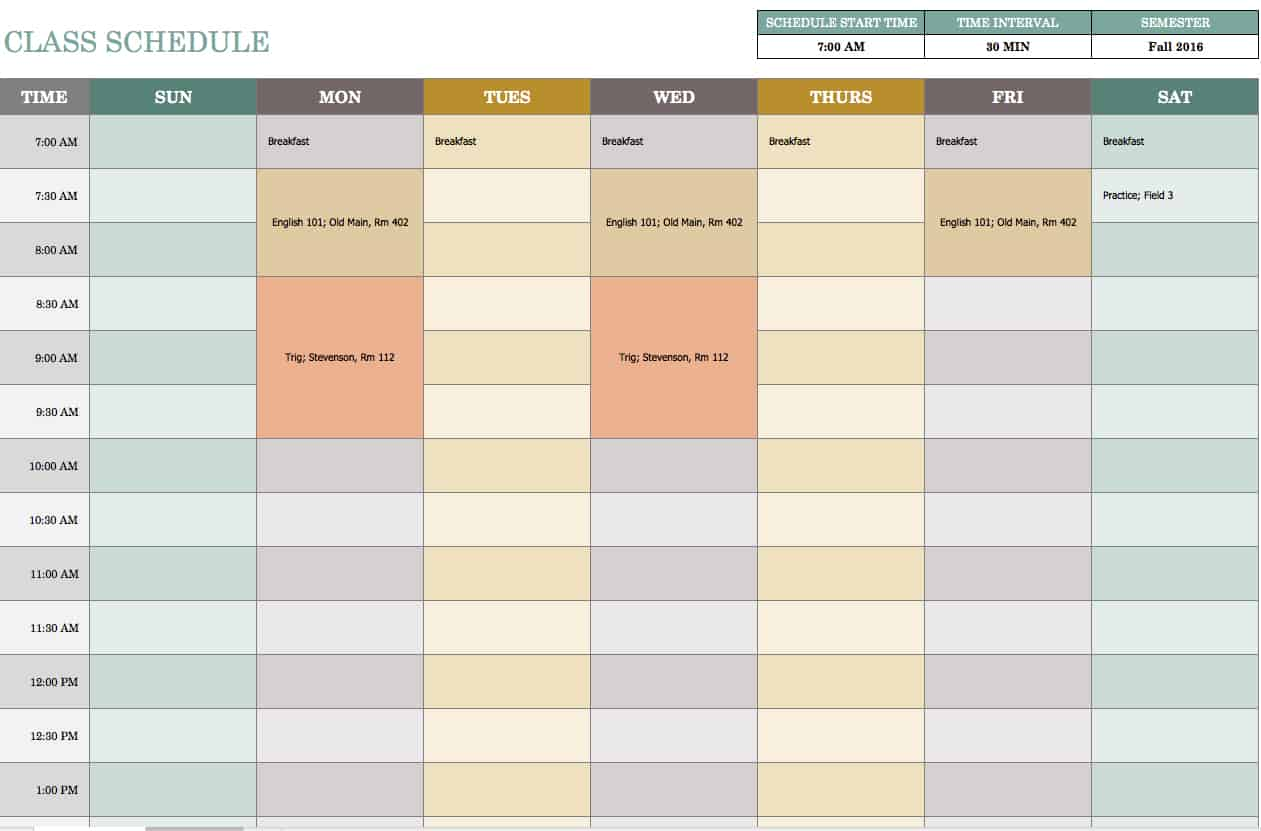 Project Payment Schedule Template free weekly schedule templates – Schedule Template Free