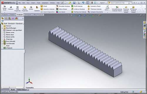 sophisticated software for solid gear