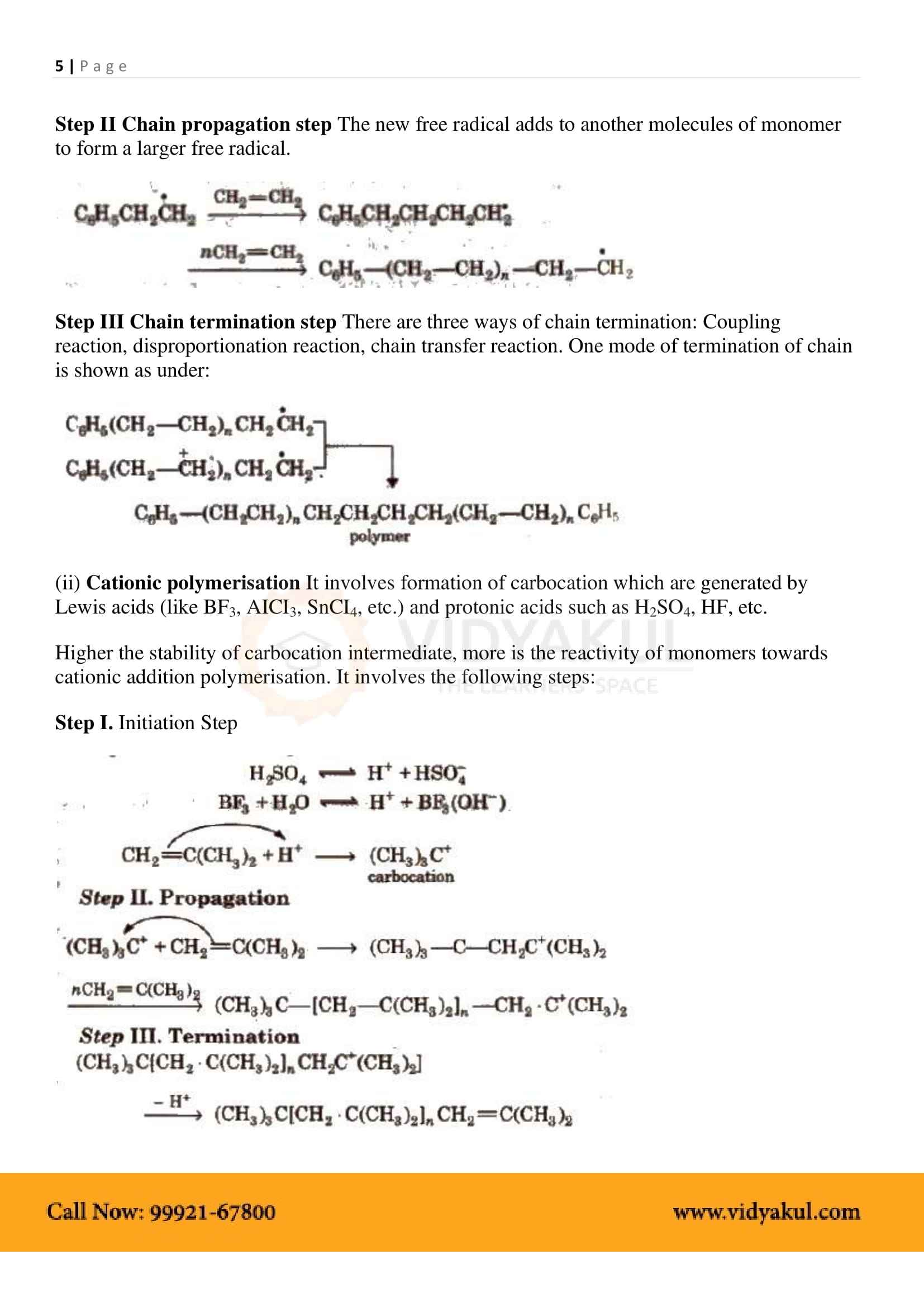 Polymers Class 12 Notes
