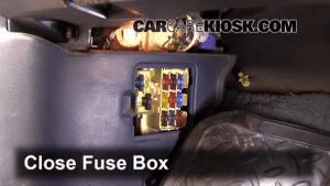 Interior Fuse Box Location: 19931998 Toyota T100  1996 Toyota T100 SR5 34L V6 Extended Cab Pickup
