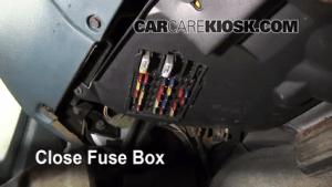 Interior Fuse Box Location: 19901999 Buick LeSabre  1992 Buick LeSabre Limited 38L V6