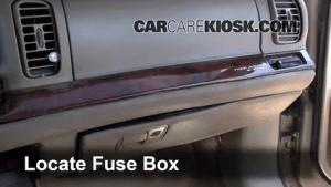 Interior Fuse Box Location: 19972005 Buick Park Avenue