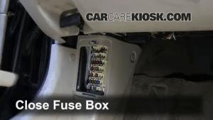 Interior Fuse Box Location: 19982002 Mazda 626  1998 Mazda 626 LX 20L 4 Cyl