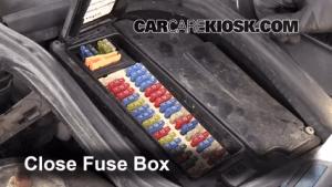Interior Fuse Box Location: 19982000 Volvo V70  1998