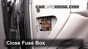 Interior Fuse Box Location: 19921999 Chevrolet C1500 Suburban  1996 Chevrolet C1500 Suburban 5