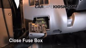 Interior Fuse Box Location: 19932001 Subaru Impreza  1999 Subaru Impreza Outback 22L 4 Cyl