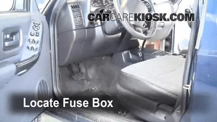 Interior Fuse Box Location 1997 2001 Jeep Cherokee