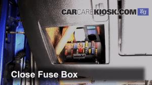 Interior Fuse Box Location: 19962003 Citroen Saxo  2002