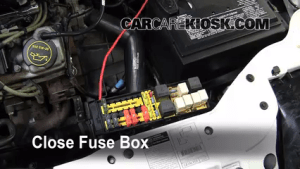 Show Fuse Box For 1998 Ford Contour Motor : 41 Wiring Diagram Images  Wiring Diagrams