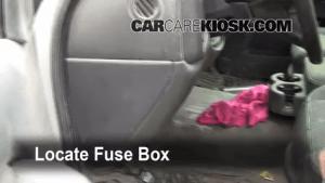 Interior Fuse Box Location: 19992007 GMC Sierra 1500