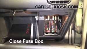 Interior Fuse Box Location: 19972003 Pontiac Grand Prix  2003 Pontiac Grand Prix GT 38L V6