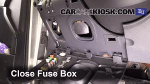 Interior Fuse Box Location: 20022008 Renault Megane  2003 Renault Megane Authentique 15L 4