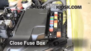 Replace a Fuse: 20032007 Saab 93  2004 Saab 93 Arc 20L 4 Cyl Turbo Convertible (2 Door)