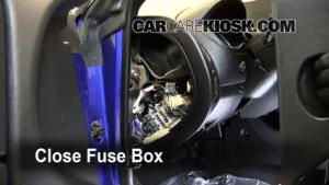 Interior Fuse Box Location: 20002005 Mitsubishi Eclipse  2005 Mitsubishi Eclipse Spyder GS 2