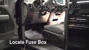 Interior Fuse Box Location: 20042008 Ford F150  2006