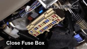 Interior Fuse Box Location: 20042010 Toyota Sienna  2006