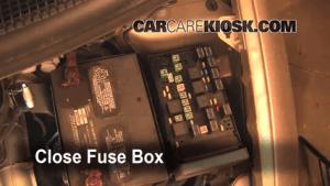 2007 Dodge Caravan Fuse Box | WIRING DIAGRAM TUTORIAL