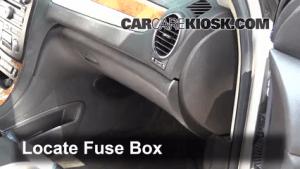 Interior Fuse Box Location: 20082012 Buick Enclave  2008 Buick Enclave CXL 36L V6