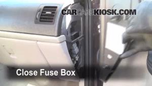 Interior Fuse Box Location: 20052008 Chevrolet Uplander  2008 Chevrolet Uplander LS 39L V6