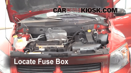 Replace A Fuse 2007 2017 Dodge Caliber 2008 Se 2 0l 2009 Horn Location Manual Box