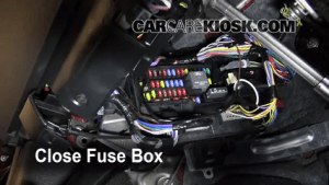 Interior Fuse Box Location: 20082009 Ford Taurus X  2008