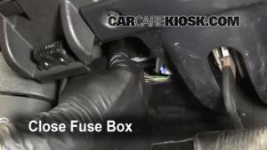 Interior Fuse Box Location: 20062010 Jeep Commander