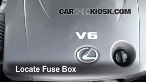 Replace a Fuse: 20062014 Lexus IS250  2008 Lexus IS250 25L V6