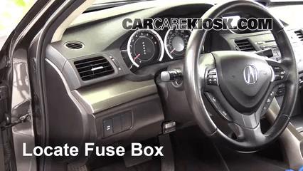 2009 Acura Tsx 2 4l 4 Cyl Fuse Interior Check