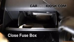Interior Fuse Box Location: 20072015 Mazda CX9  2009