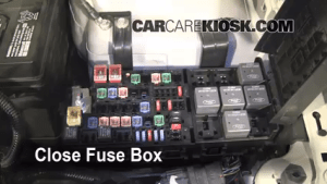 Replace a Fuse: 20102012 Ford Fusion  2010 Ford Fusion