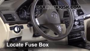 Interior Fuse Box Location: 20102016 MercedesBenz E350