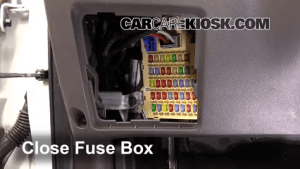Interior Fuse Box Location: 20072012 Hyundai Santa Fe