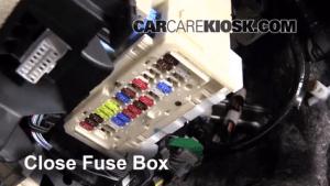 Interior Fuse Box Location: 20072011 Toyota Yaris  2011