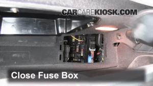 Interior Fuse Box Location: 20102017 BMW 528i xDrive  2012 BMW 528i xDrive 20L 4 Cyl Turbo