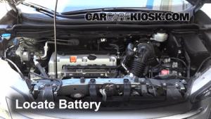 Battery Replacement: 20122016 Honda CRV  2012 Honda CRV EXL 24L 4 Cyl