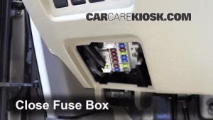 Interior Fuse Box Location: 20092014 Nissan Murano  2009 Nissan Murano SL 35L V6
