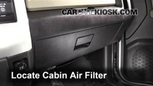 Cabin Filter Replacement: Ram 1500 20112017  2012 Ram