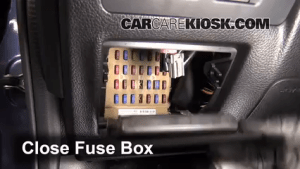 Interior Fuse Box Location: 20122016 Subaru Impreza  2012 Subaru Impreza 20L 4 Cyl Wagon