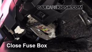 Interior Fuse Box Location: 20122017 Toyota Yaris  2012 Toyota Yaris L 15L 4 Cyl Hatchback