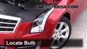 Headlight Change 20132018 Cadillac ATS  2013 Cadillac ATS Performance 36L V6 FlexFuel
