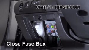 Interior Fuse Box Location: 20142016 Chevrolet Impala