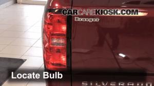 Rear Turn Signal Replacement Chevrolet Silverado 1500