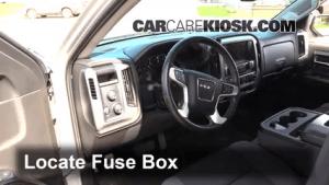 Interior Fuse Box Location: 20142018 GMC Sierra 1500