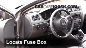 Interior Fuse Box Location: 20112018 Volkswagen Jetta  2014 Volkswagen Jetta SE 18L 4 Cyl