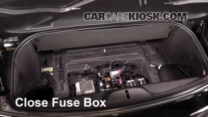 Interior Fuse Box Location: 20142017 Chevrolet Corvette  2015 Chevrolet Corvette Stingray 62L
